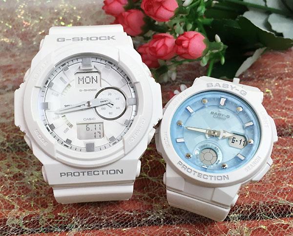恋人たちのGショックペアウォッチ G-SHOCK BABY-G ペア腕時計 カシオ 2本セット gショック ベビーg アナデジ GA-150-7AJF BGA-250-7A1JF お揃い プレゼント ギフト 人気 ラッピング無料 新品 メッセージカード手書きします クリスマスプレゼント