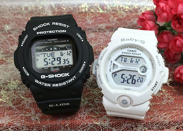 恋人たちのGショック ペアウオッチ G-SHOCK ペア腕時計 カシオ GWX-5700CS-1JF BG-6903-7BJF プレゼント ギフト ラッピング無料 メッセージカード g-shock クリスマスプレゼント