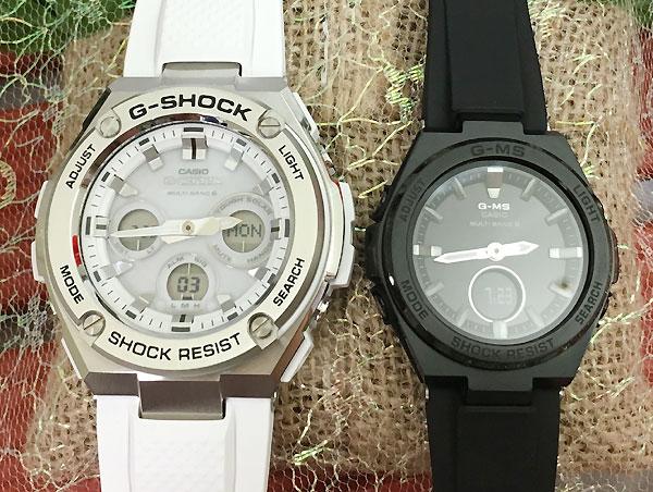 Gショック ペア G-SHOCK BABY-G ペアウォッチ ペア腕時計 カシオ 2本セット gショック ベビーg アナデジ GST-W310-7AJF MSG-W200G-1A2JF 人気 ラッピング無料