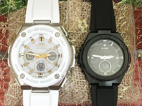Gショック ペア G-SHOCK BABY-G ペアウォッチ ペア腕時計 カシオ 2本セット gショック ベビーg アナデジ GST-W300-7AJF MSG-W200G-1A2JF 人気 ラッピング無料 クリスマス