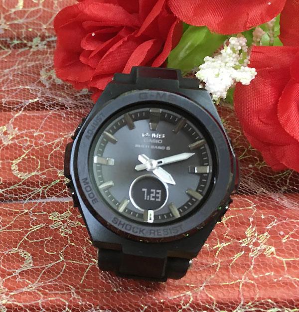BABY-G カシオ MSG-W200G-1A2JF ソーラー電波 プレゼント 腕時計 ギフト 人気 ラッピング無料 愛の証 感謝の気持ち baby-g 国内正規品 新品 メッセージカード手書きします あす楽対応 クリスマスプレゼント