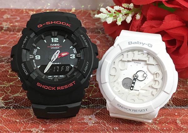 恋人たちのGショック ペアウオッチ G-SHOCK BABY-G ペア腕時計 カシオ 2本セット ペア gショック ベビーg G-100-1BMJF BGA-131-7BJF プレゼント ギフト人気 ラッピング無料 g-shock あす楽対応 クリスマスプレゼント