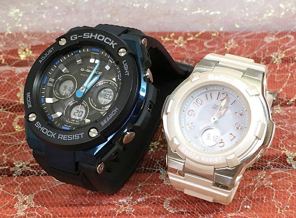 Gショック ペア G-SHOCK BABY-G ペアウォッチ ペア腕時計 カシオ 2本セット gショック ベビーg アナデジ GST-W300G-1A2JF BGA-1100-4BJF 人気 ラッピング無料 あす楽対応