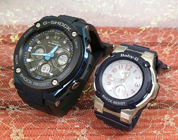 Gショック ペア G-SHOCK BABY-G ペアウォッチ ペア腕時計 カシオ 2本セット gショック ベビーg アナデジ GST-W300G-1A2JF BGA-1100-2BJF 人気 ラッピング無料 あす楽対応