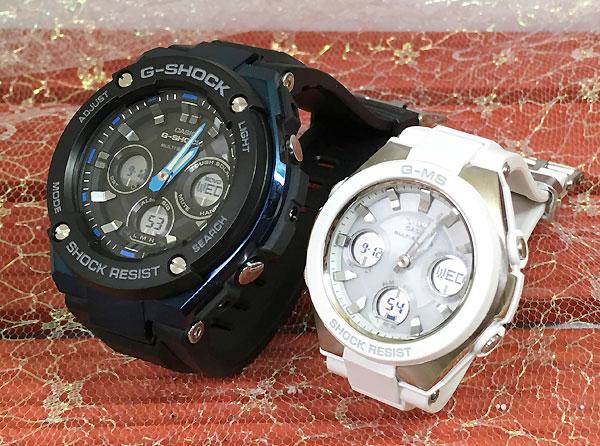 Gショック ペア G-SHOCK BABY-G ペアウォッチ ペア腕時計 カシオ 2本セット gショック ベビーg アナデジ GST-W300G-1A2JF MSG-W100-7AJF 人気 ラッピング無料