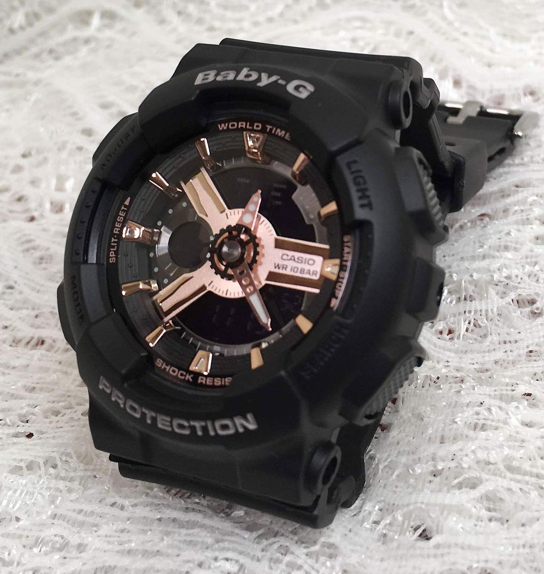 BABY-G カシオ BA-110RG-1AJF クオーツ プレゼント腕時計 ギフト 人気 ラッピング無料 愛の証 感謝の気持ち baby-g 国内正規品 新品 メッセージカード手書きします あす楽対応 クリスマスプレゼント