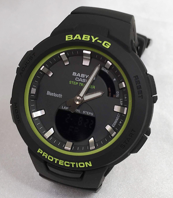 BABY-G カシオ BSA-B100SC-1AJF クオーツ プレゼント腕時計 ギフト 人気 ラッピング無料 手書きのメッセージカードお付けします 愛の証 感謝の気持ち baby-g 国内正規品 新品 あす楽対応