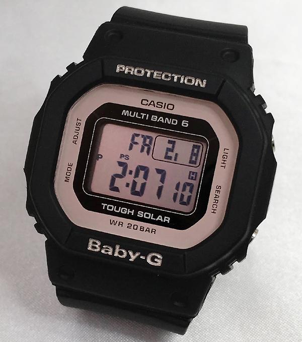 BABY-G カシオ BGD-5000-1BJF 電波ソーラー プレゼント腕時計 ギフト 人気 ラッピング無料 手書きのメッセージカードお付けします 愛の証 感謝の気持ち baby-g 国内正規品 新品 あす楽対応