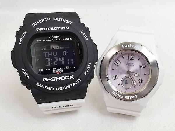 恋人たちのGショック ペアウオッチ G-SHOCK BABY-G ペア腕時計 カシオ 2本セット gショック ベビーg GWX-5700SSN-1JF BGA-1050CD-7BJF大人のG-SHOCK プレゼント ギフト ラッピング無料 手書きのメッセージカードお付けします