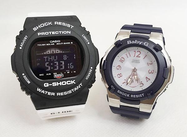 恋人たちのGショック ペアウオッチ G-SHOCK BABY-G ペア腕時計 カシオ 2本セット gショック ベビーg GWX-5700SSN-1JF BGA-1100-2BJF 大人のG-SHOCK プレゼント ギフト ラッピング無料 手書きのメッセージカードお付けします あす楽対応