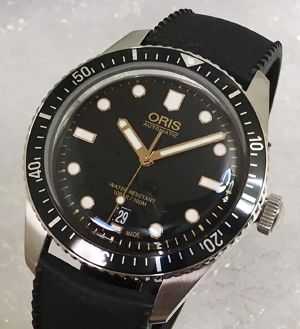 オリスダイバーズ オリス腕時計 メンズ ウォッチ 733.7707.4084 ラバーバンド仕様 当店オリジナル 自動巻き モーベンバー限定モデル ギフト 人気 ラッピング無料 手書きのメッセージカードお付けします あす楽対応 国内正規3年保証