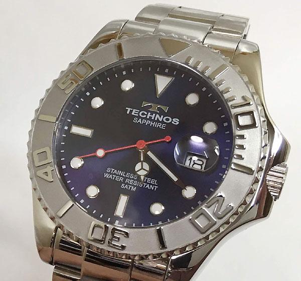 テクノス 腕時計 メンズウォッチ TECHNOS T9575SL ギフト ラッピング無料 手書きのメッセージカードお付けします あす楽対応