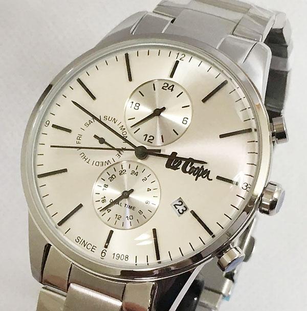 Lee Cooper(リークーパー) メンズ腕時計 LC6418.330 日本製ムーブメント ラッピング無料 手書きのメッセージカードお付けします あす楽対応