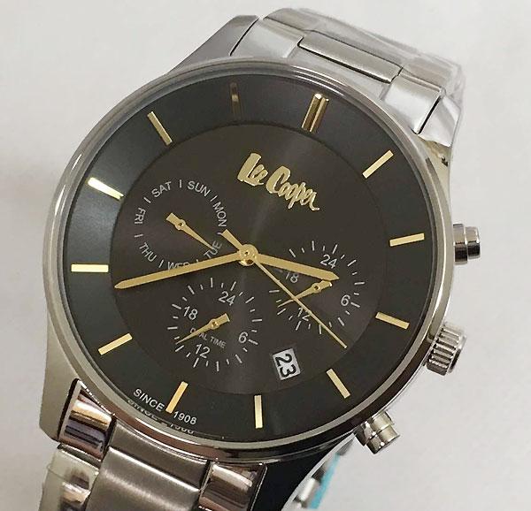Lee Cooper(リークーパー) メンズ腕時計 LC6857.350 日本製ムーブメント ラッピング無料 手書きのメッセージカードお付けします あす楽対応
