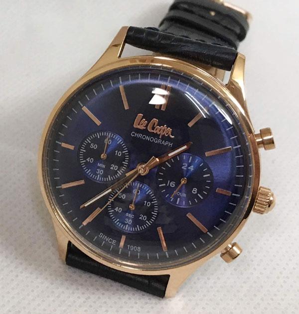 Lee Cooper(リークーパー) メンズ腕時計 LC6293.499 日本製ムーブメント ラッピング無料 手書きのメッセージカードお付けします あす楽対応