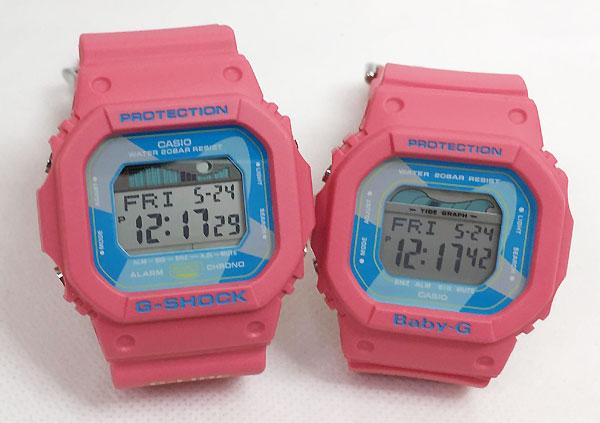 恋人たちのGショック ペアウオッチ G-SHOCK BABY-G ペア腕時計 カシオ 2本セット gショック ベビーg デジタル GLX-5600VH-4JF BLX-560VH-4JF G-LIDE ラッピング無料 g-shock クリスマスプレゼント 手書きのメッセージカードお付けします あす楽対応