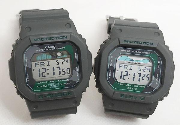 恋人たちのGショック ペアウオッチ G-SHOCK BABY-G ペア腕時計 カシオ 2本セット gショック ベビーg デジタル GLX-5600VH-1JF BLX-560VH-1JF G-LIDE ラッピング無料 g-shock クリスマスプレゼント 手書きのメッセージカードお付けします あす楽対応
