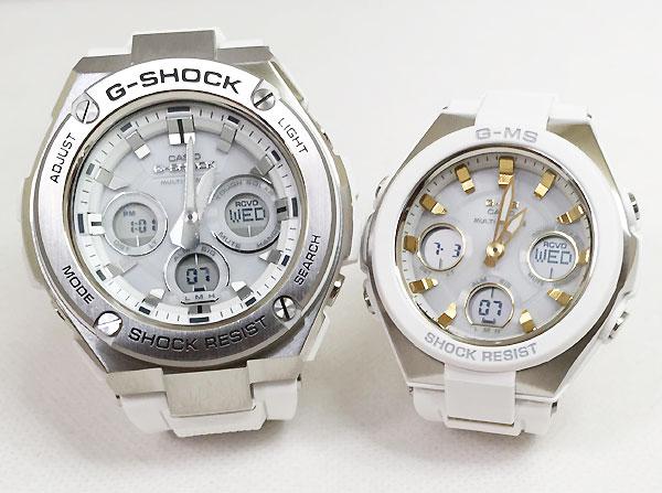 好きだよ恋人たちのGショックペア G-SHOCK BABY-G ペアウォッチ ペア腕時計 カシオ 2本セット gショック ベビーg アナデジ GST-W310-7AJF MSG-W100-7A2JF 人気 ラッピング無料