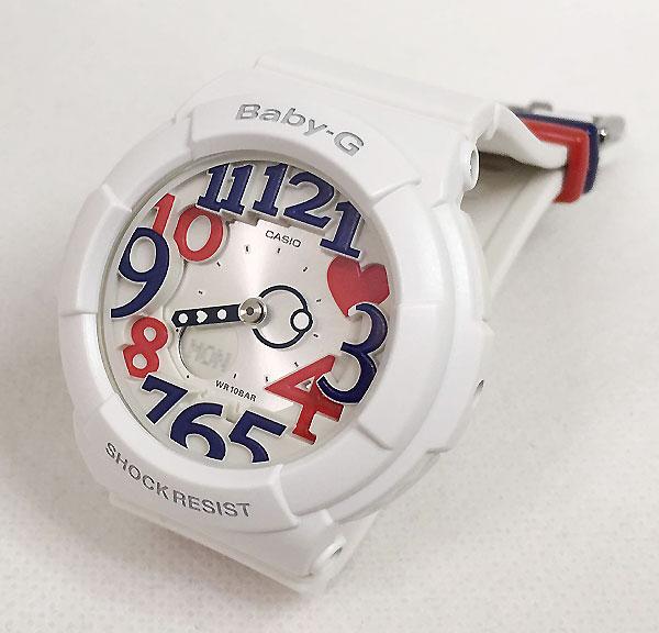 BABY-G カシオ ホワイト BGA-130TR-7BJF プレゼント 腕時計 ギフト 人気 ラッピング無料 愛の証 感謝の気持ち baby-g 国内正規品 新品 メッセージカード手書きします あす楽対応