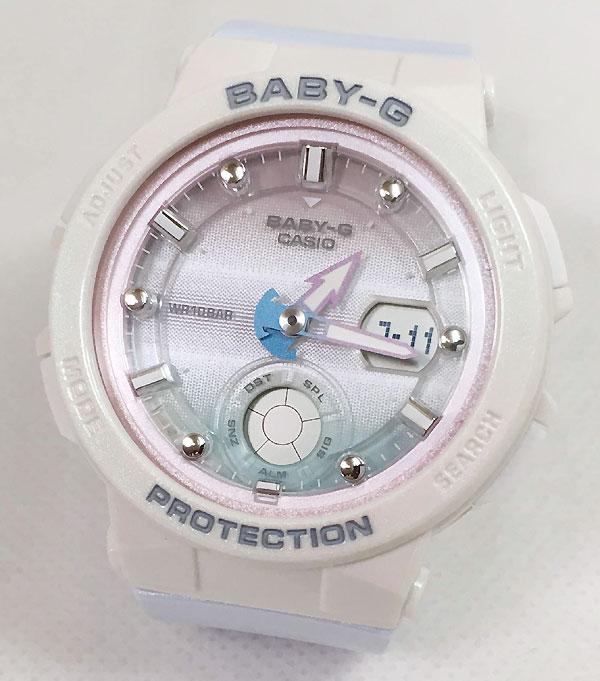 BABY-G カシオ BGA-250-7A3JF ソーラー電波 プレゼント腕時計 ギフト 人気 ラッピング無料 愛の証 感謝の気持ち baby-g 国内正規品 新品 メッセージカード手書きします あす楽対応