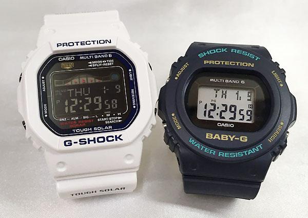 恋人達のGショック ペアウォッチ G-SHOCK BABY-G ペア腕時計 カシオ 2本セット gショック ベビーg デジタル アナデジ GWX-5600C-7JF BGD-5700-2JF 人気 ラッピング無料 あす楽対応 クリスマスプレゼント