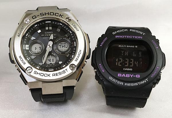 恋人達のGショック ペアウォッチ G-SHOCK BABY-G ペア腕時計 カシオ 2本セット gショック ベビーg デジタル アナデジ GST-W310-1AJF BGD-5700-1JF 人気 ラッピング無料 あす楽対応 クリスマスプレゼント