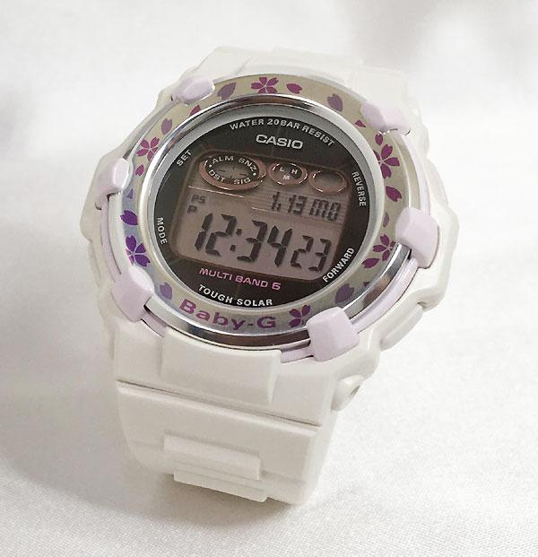 BABY-G カシオ BGR-3000CBP-7JF ソーラー電波 プレゼント腕時計 ギフト 人気 ラッピング無料 愛の証 感謝の気持ち baby-g 国内正規品 新品 メッセージカード手書きします あす楽対応