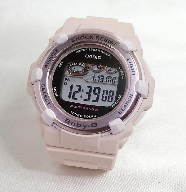 BABY-G カシオ BGR-3000CB-4JF ソーラー電波 プレゼント腕時計 ギフト 人気 ラッピング無料 愛の証 感謝の気持ち baby-g 国内正規品 新品 メッセージカード手書きします あす楽対応