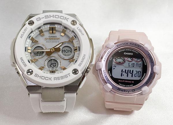 恋人達のGショック ペアウォッチ G-SHOCK BABY-G ペア腕時計 カシオ 2本セット gショック ベビーg デジタル アナデジ GST-W300-7AJF BGR-3000CB-4JF 人気 ラッピング無料 あす楽対応 クリスマスプレゼント