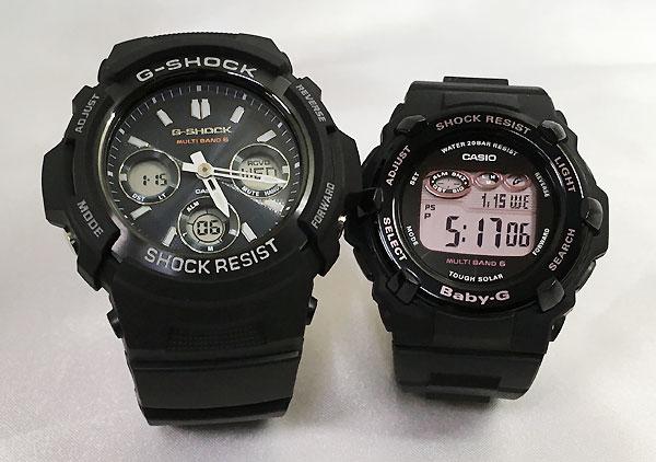 恋人達のGショック ペアウォッチ G-SHOCK BABY-G ペア腕時計 カシオ 2本セット gショック ベビーg デジタル アナデジ AWG-M100SB-2AJF BGR-3000CB-1JF 人気 ラッピング無料 あす楽対応 クリスマスプレゼント