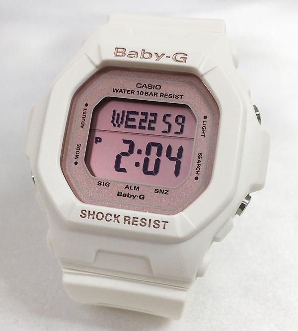 好きだよ かわいいね CASIO ジーショック 大規模セール ベビージー 記念日 誕生日 スクエア ママ割り BABY-G カシオ BG-5606-7BJF 白に淡いピンクが可愛い 新品 感謝の気持ち 国内正規品 baby-g ギフト 腕時計 ラッピング無料 愛の証 人気 プレゼント メッセージカード手書きします 登場大人気アイテム あす楽対応
