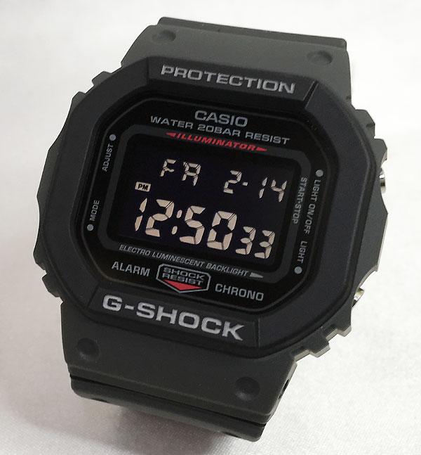 国内正規品 新品 Gショック G-SHOCK カシオ メンズウオッチ gショック アナデジ DW-5610SU-8JF プレゼント 腕時計 ギフト 人気 ラッピング無料 愛の証 感謝の気持ち g-shock メッセージカード手書きします あす楽対応 クリスマスプレゼント