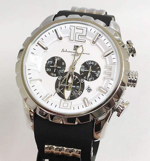 サルバトーレマーラ 腕時計 メンズウォッチ Salvatore Marra SM15107-SSWH ギフト ラッピング無料 手書きのメッセージカードお付けします あす楽対応