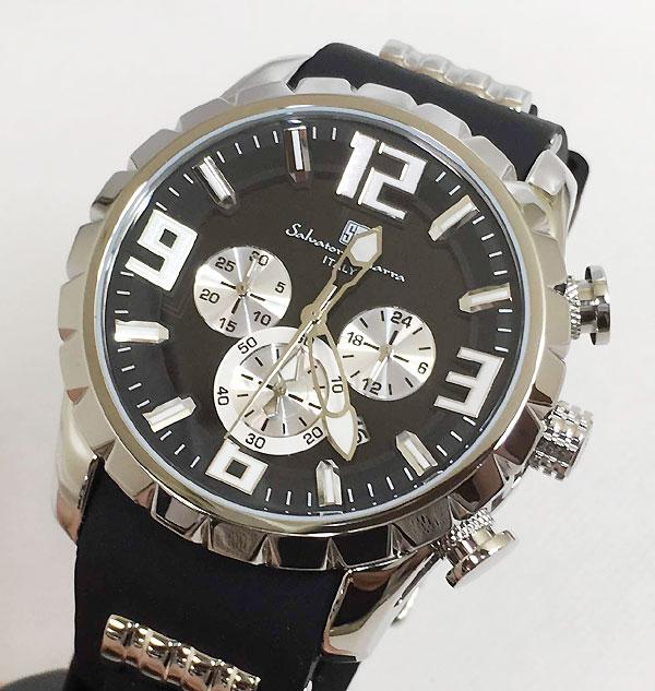 サルバトーレマーラ 腕時計 メンズウォッチ Salvatore Marra SM15107-SSBK ギフト ラッピング無料 手書きのメッセージカードお付けします あす楽対応