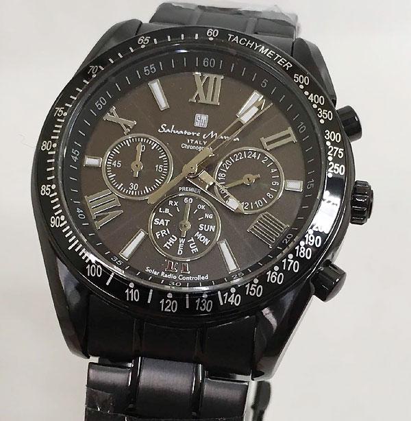 サルバトーレマーラ 腕時計 メンズウォッチ Salvatore Marra SM15116-BKBKSV ギフト ラッピング無料 手書きのメッセージカードお付けします あす楽対応