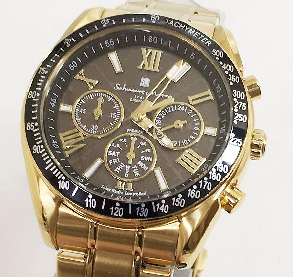 サルバトーレマーラ 腕時計 メンズウォッチ Salvatore Marra SM15116-GDBKGD ギフト ラッピング無料 手書きのメッセージカードお付けします あす楽対応