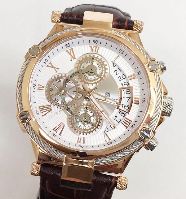 サルバトーレマーラ 腕時計 メンズウォッチ Salvatore Marra SM18102-PGWH ギフト ラッピング無料 手書きのメッセージカードお付けします あす楽対応