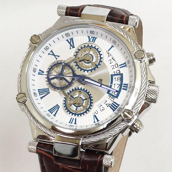 サルバトーレマーラ 腕時計 メンズウォッチ Salvatore Marra SM18102-SSWH ギフト ラッピング無料 手書きのメッセージカードお付けします あす楽対応