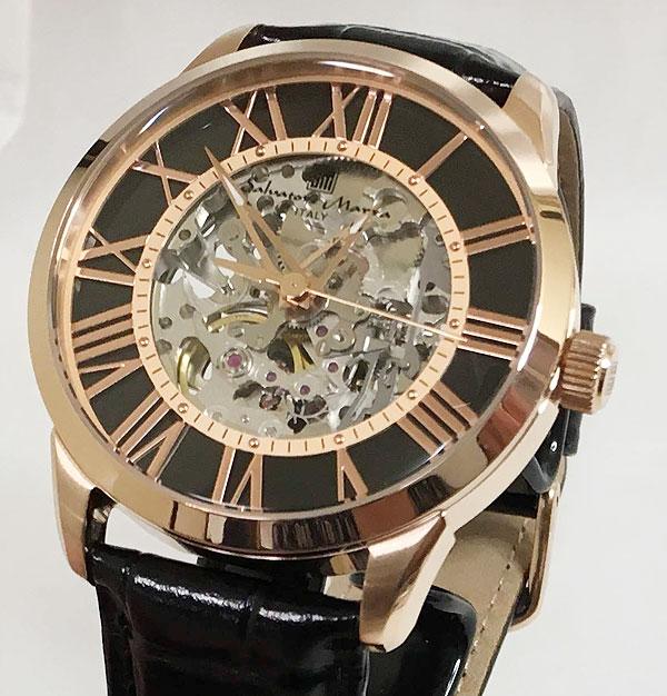 サルバトーレマーラ 腕時計 メンズウォッチ Salvatore Marra SM16101-PGBK ギフト ラッピング無料 手書きのメッセージカードお付けします あす楽対応