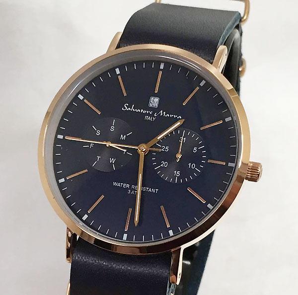 サルバトーレマーラ 腕時計 メンズウォッチ Salvatore Marra SM15117-PGNVPG ギフト ラッピング無料 手書きのメッセージカードお付けします あす楽対応