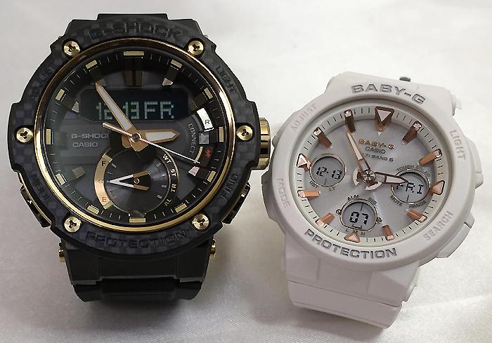 恋人たちのGショックペアウォッチ G-SHOCK BABY-G ペア腕時計 カシオ 2本セット gショック 電波ソーラー GST-B200X-1A9JF BGA-2500-7AJF 人気 ラッピング無料 あす楽対応 クリスマスプレゼント ほんのり好きでいてください