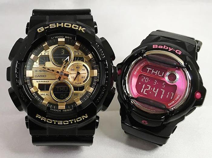 恋人たちのGショックペアウオッチ G-SHOCK ペア腕時計 カシオ GA-140GB-1A1JF BG-169R-1BJF プレゼント ギフト ラッピング無料 g-shock メッセージカード手書きします あす楽対応 クリスマスプレゼント