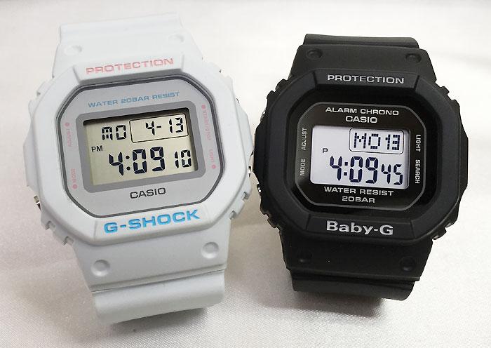恋人たちのGショック ペアウオッチ Gショック ペア G-SHOCK BABY-G ペア腕時計 カシオ 2本セット gショック ベビーg デジタル DW-5600SC-8JF BGD-560-1JF 人気 ラッピング無料 手書きのメッセージカードお付けします あす楽対応 g-shock クリスマス