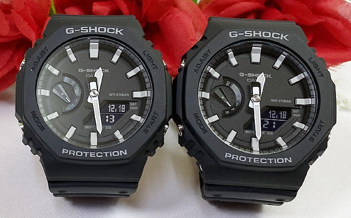 当店在庫してます! 恋人たちのGショック ペアウオッチ G-SHOCK BABY-G ペア腕時計 カシオ 2本セット gショック ベビーg GA-2100-1AJF GA-2100-1AJF プレゼント ギフト ラッピング無料 メッセージカード g-shock クリスマス プレゼント 愛の証, 知育英語教材の【ちゃおーね】 2b0c376e