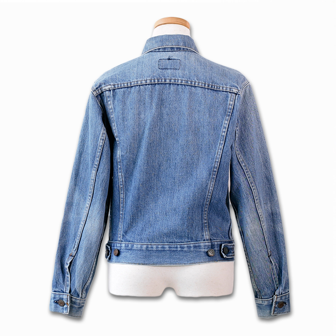 Vintage Levis denim jacket Lady's G ジャンジージャン Levis ユーズド old clothes UKR032 of one point