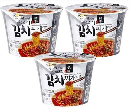 無料配送 八道 Paldo GS25 オオモリ キムチチゲ オンラインショップ 韓国食品 並行輸入品 3個入 ご予約品 カップラーメン150g 韓国ラーメン