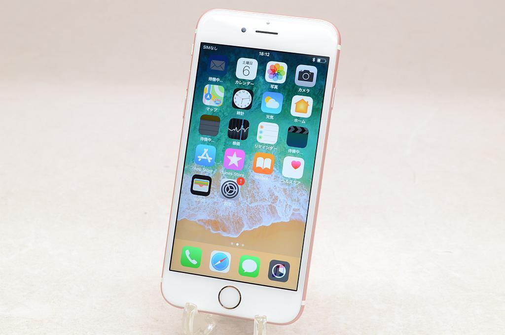 【中古】au Apple iPhone6s 64GB ローズゴールド