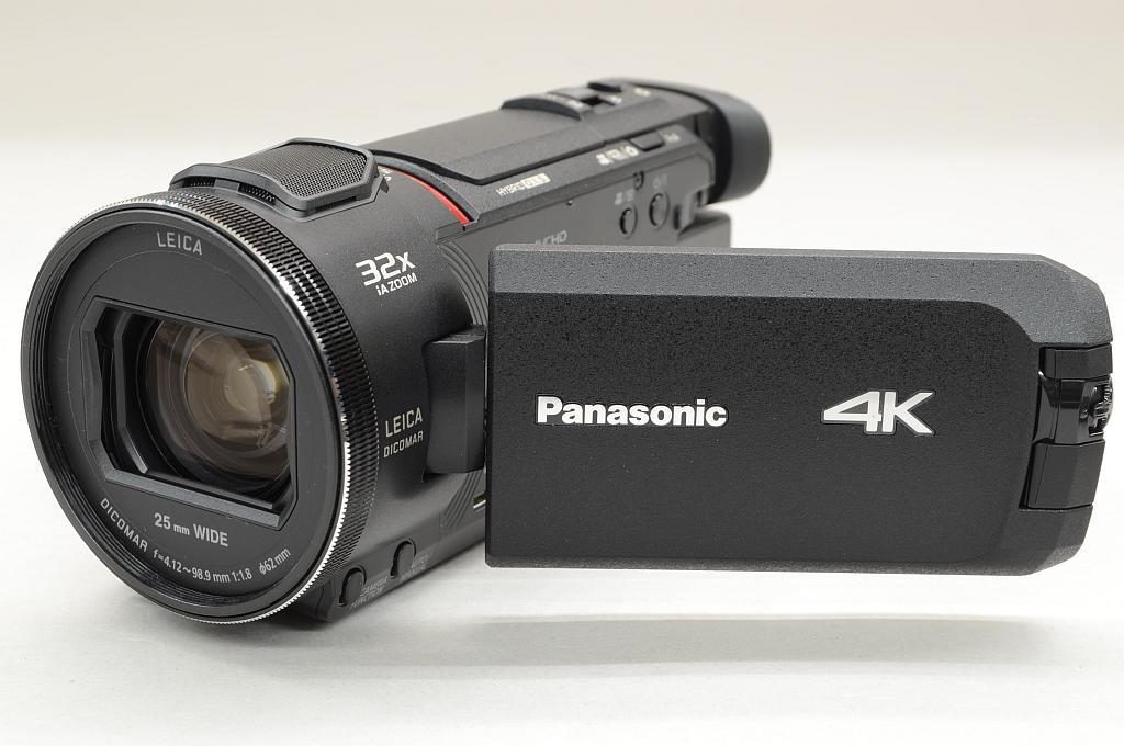 【中古】Panasonic デジタル4Kビデオカメラ HC-WXF1M