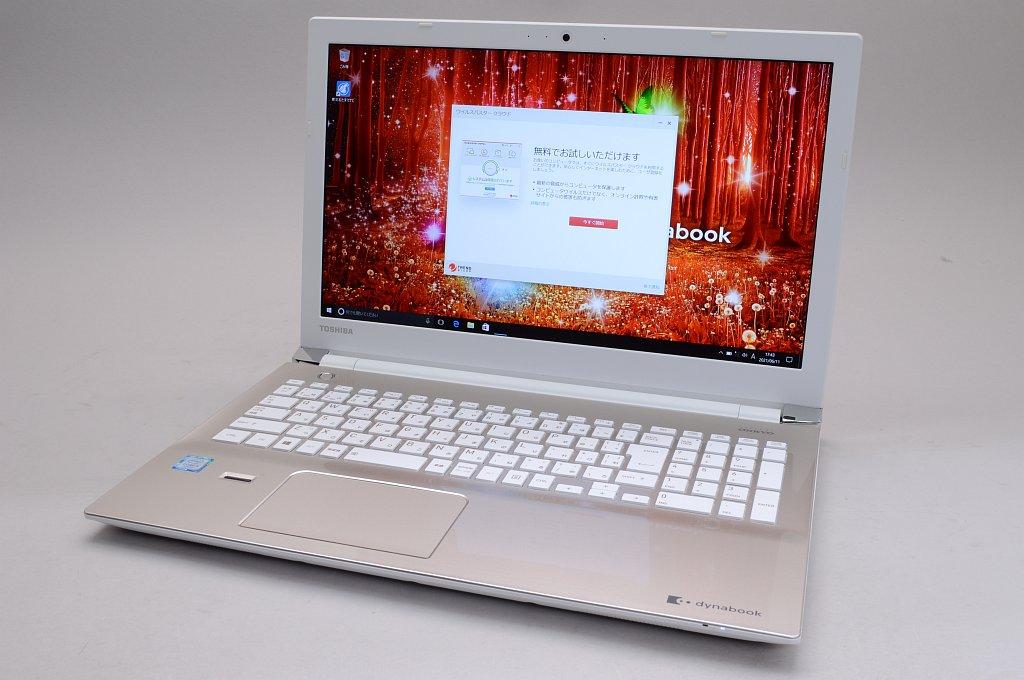 外観ランクC 東芝 Intel Core 訳あり品送料無料 i5 人気商品 8GB 15.6インチ 1TB Windows 10 中古 TOSHIBA dynabook PTEX-65CBJG EX サテンゴールド 65CG