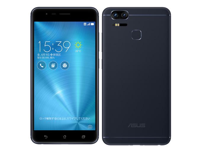 ASUS ZenFone Zoom S ZE553KL-BK64S4 SIMフリー